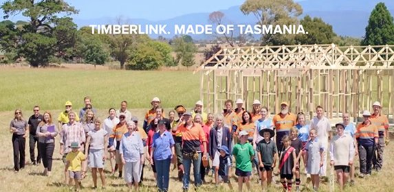 timberlink made of tasmania commercial