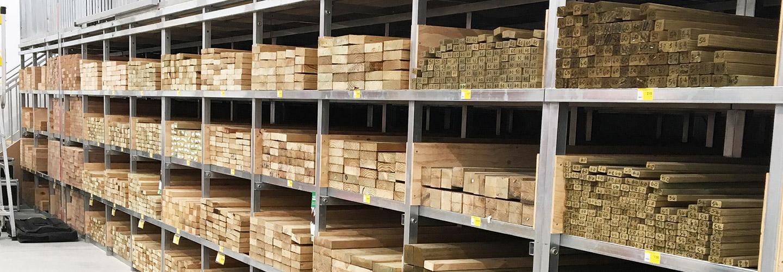 stock piles of timberlink timber