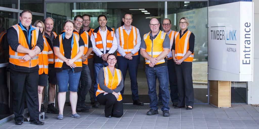 Buy Aussie Timber First - Some of our Tasmanian Mill team
