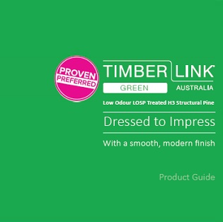 Timberlink Green Product Guide Cover 2019
