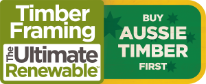 Logo for the Buy Aussie Timber First Campaign