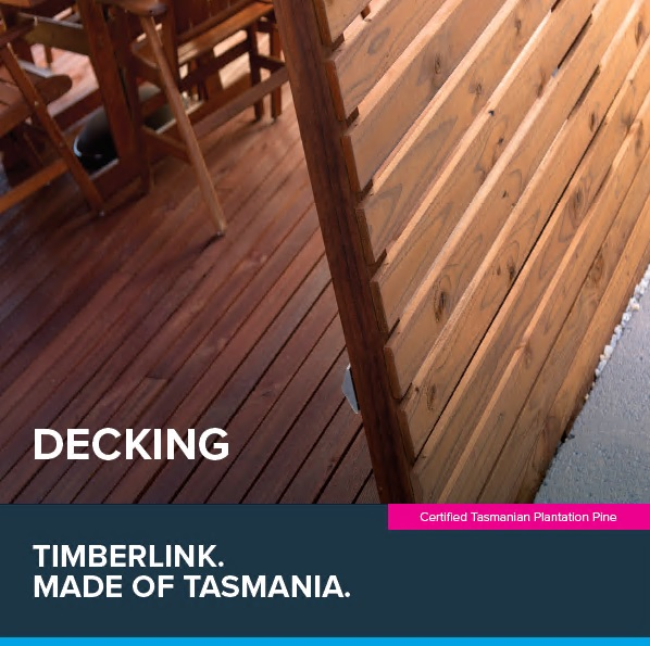 Front cover of Timberlink Decking Guide