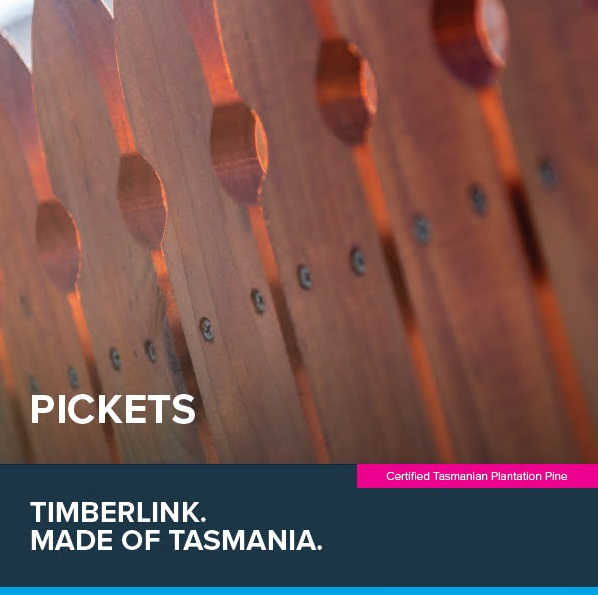 Front cover of Timberlink Pickets Guide